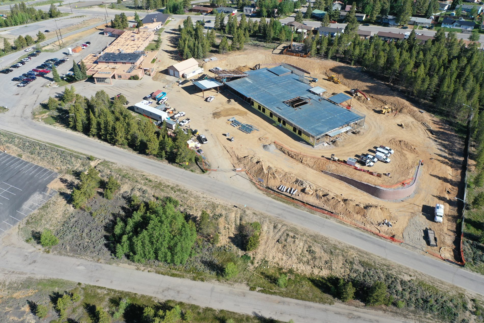 July progress drone footage posted